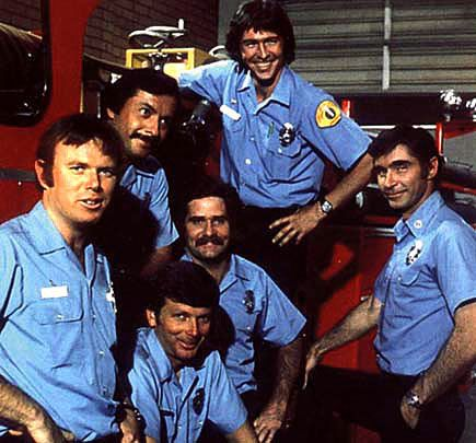 Look, ma! Firefighters!